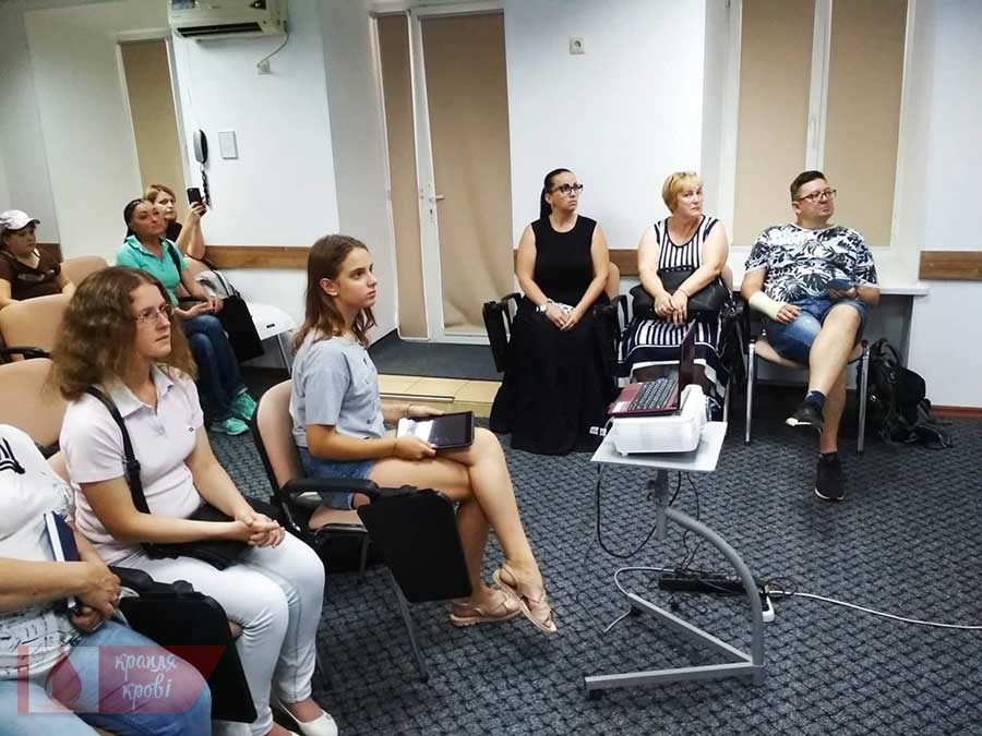 Фотозвіт з школи пацієнтів у Одесі 2018